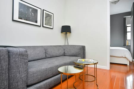 Newly renovated apartment located in the heart of the Lower East Side/ Chinatown! Just steps from the hottest bars and restaurants in the city! Easy subway access (F,B,D) and a bedroom view of the Empire State building!
