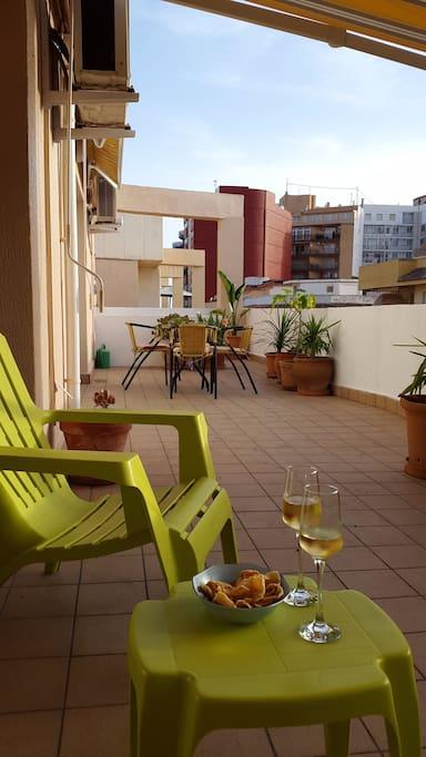 Tico sun catcher calpe apartamentos en alquiler en calp - Atico las tablas ...