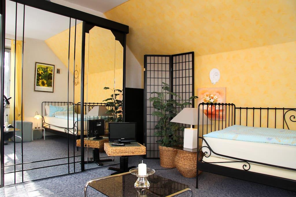 richtig sch ne und ruhige wohnung im gr nen wohnungen zur miete in bad oeynhausen nordrhein. Black Bedroom Furniture Sets. Home Design Ideas