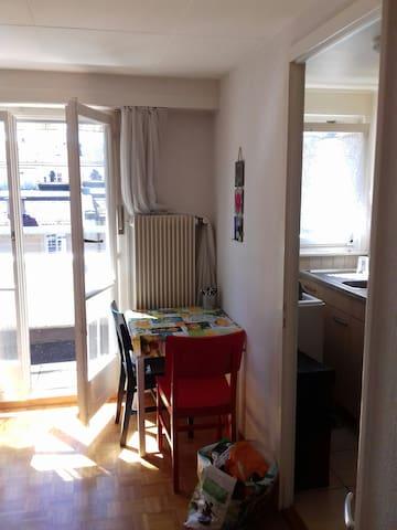 Beau studio proche de la gare CFF Lausanne