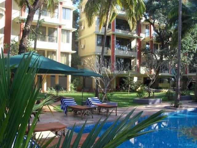 Furnished 1 BHK near the beach in Palolem - Canacona - Leilighet