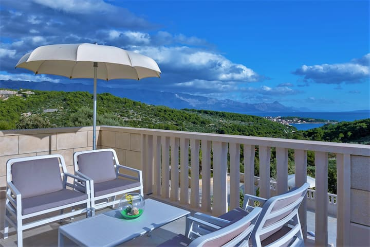 Villa Lokanjac, pool & sea view **special offer**