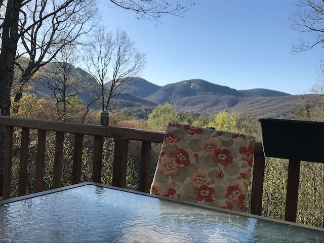 Lake Toxaway home with a view