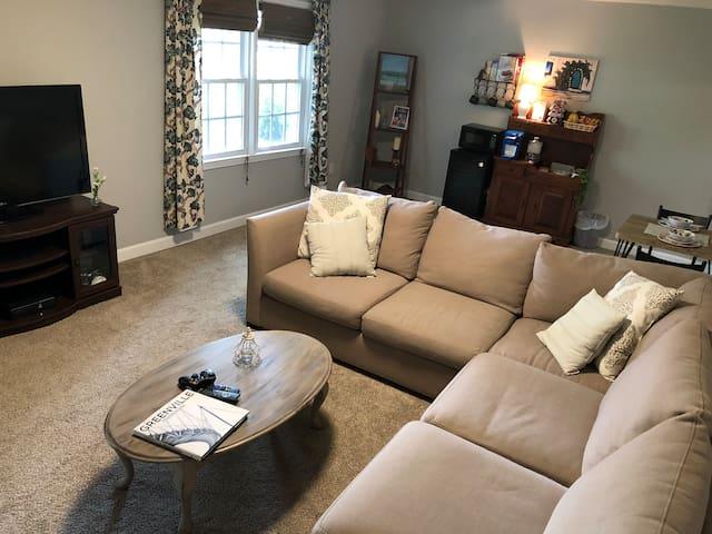 Cozy basement suite near downtown Greenville!