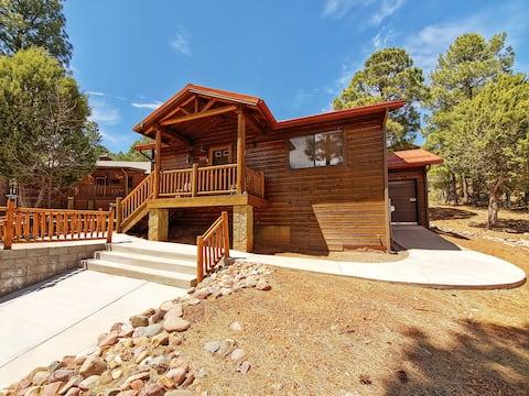 NEW! Bison Ridge Cabin Near Fool Hollow Lake!!!
