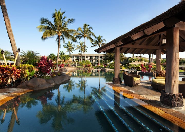 The Westin Princeville studio with kitchenette