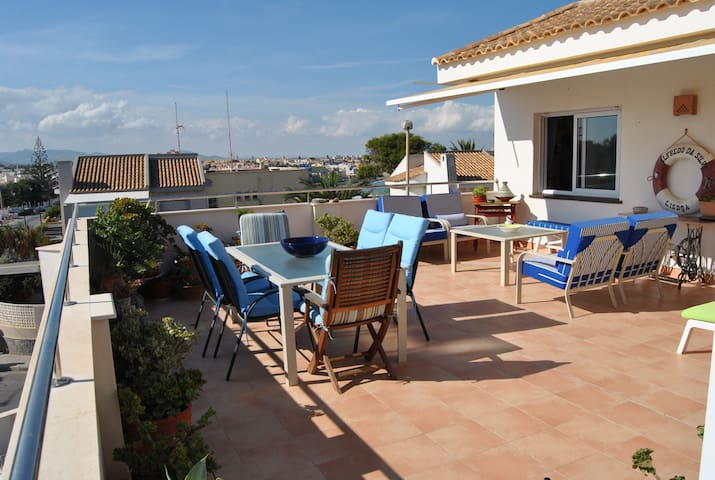 Penthouse with amazing views of the Mediterranean! - Cabo de Palos - Apartemen
