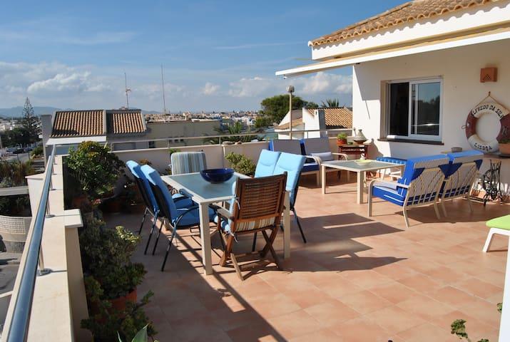 Penthouse with Great Views over Mediterranean Sea! - Cabo de Palos - Apartemen