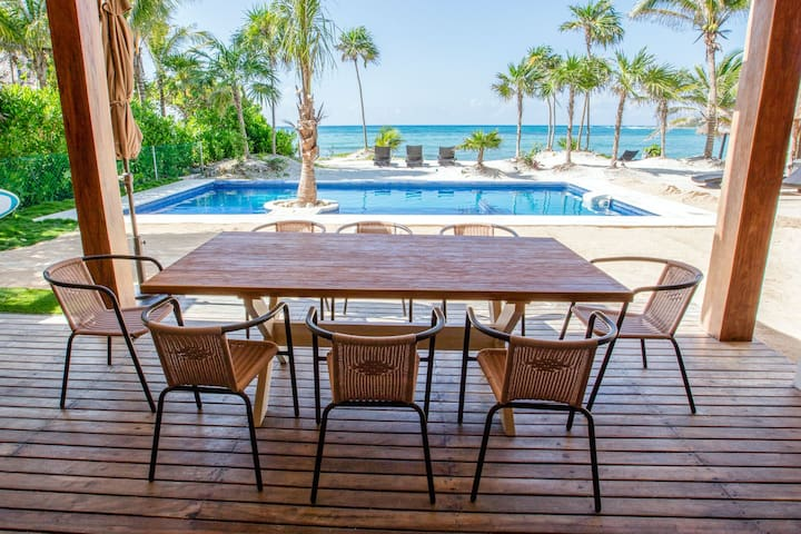 Paradisiacal Department in Akumal for rent - Cancún - Apartment