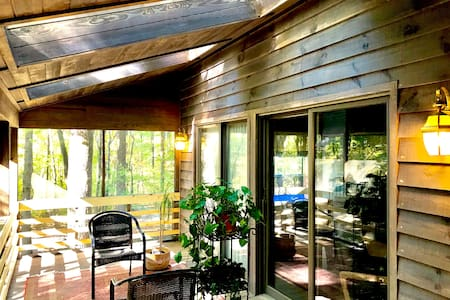 Center for Creative Balance cozy treetop retreat