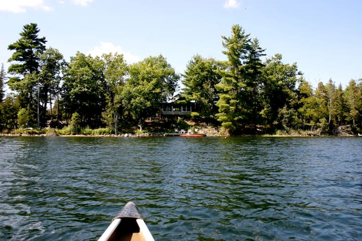 Cottage on private island nr Ottawa