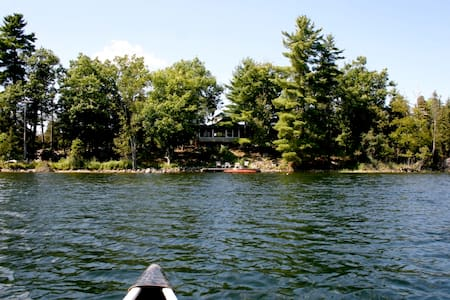 Cottage on private island nr Ottawa - ออตตาวา - เกาะ