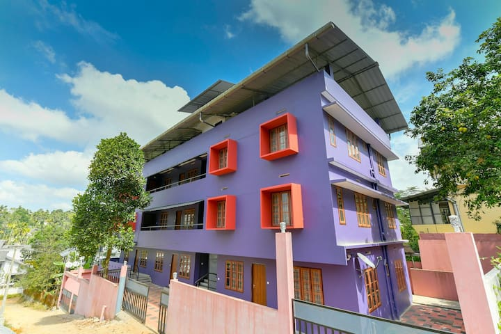 OYO - Elegant 1BHK Apartment in Wayanad