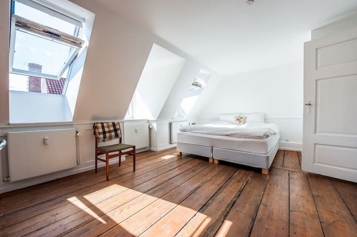 Spacious & charming city center apt - København