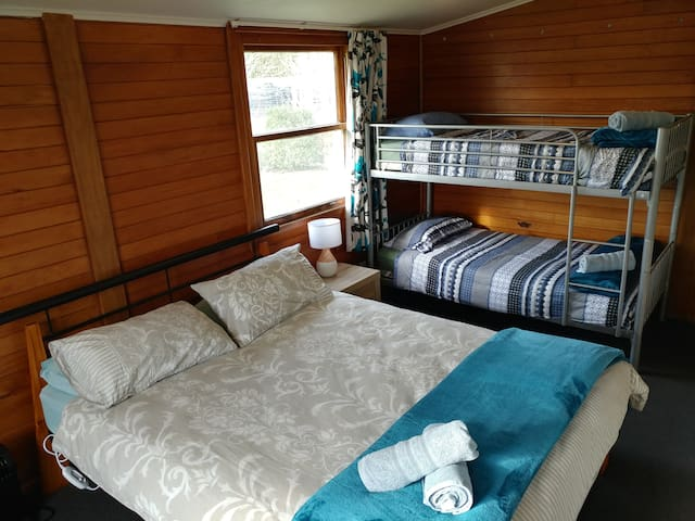 Family Double Cabin at Waiau Motor Camp