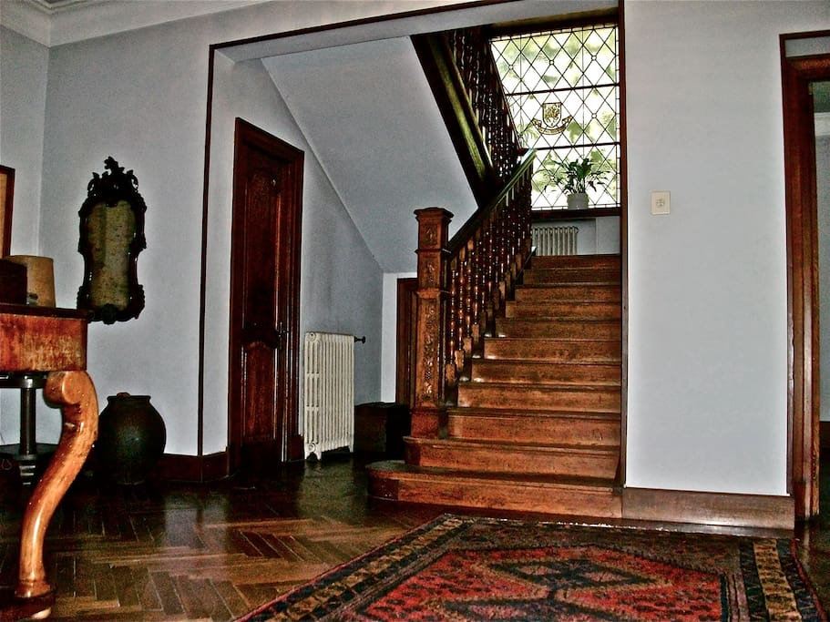 Hall, Main Staircase
