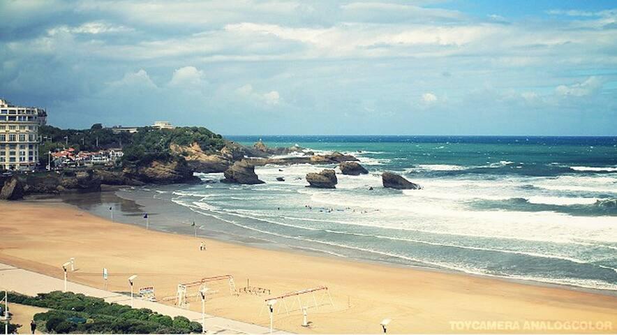 studio Biarritz avec vue mer - Biarritz