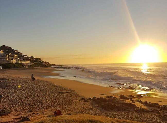 Beautiful sunsets at Strand Beach