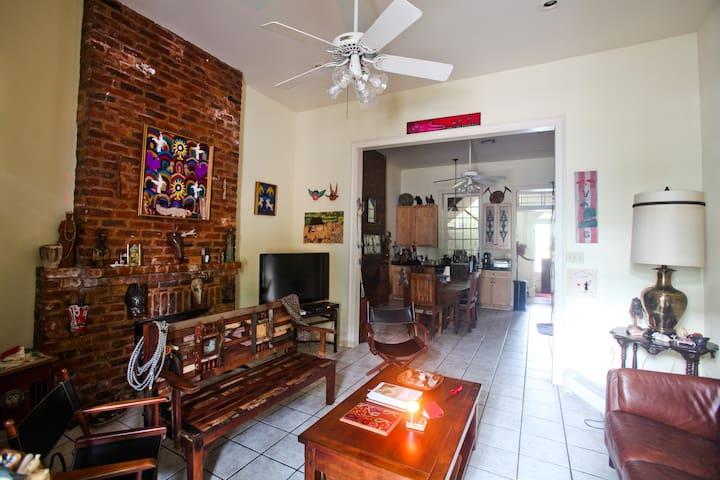 Haunted! Historic Marigny - - New Orleans - Hus