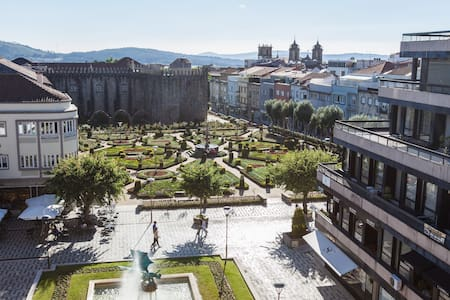 Penthouse Historic Center BRAGA Best Location