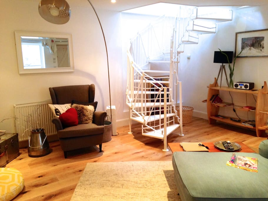 Our lovely spiral staircase