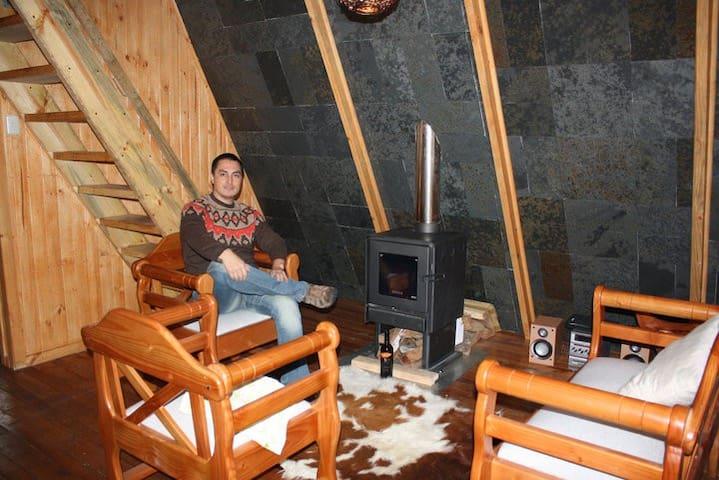 Cabaña Las Trancas, Termas de Chillán - Chillan - Alojamento ecológico