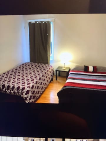 Convenient location! Good room two queen beds!