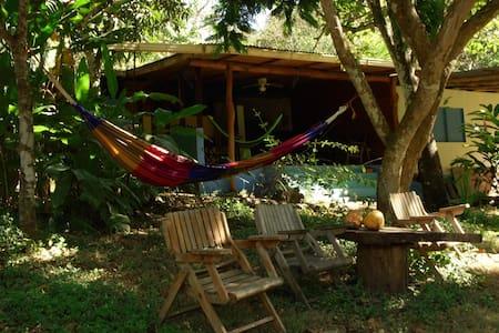 spacious room in riverfront finca - San Juanillo