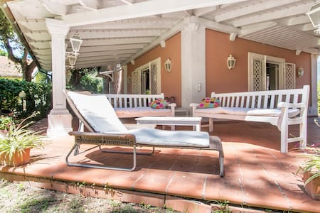 Rome by the sea luxury villa garden - Fregenae