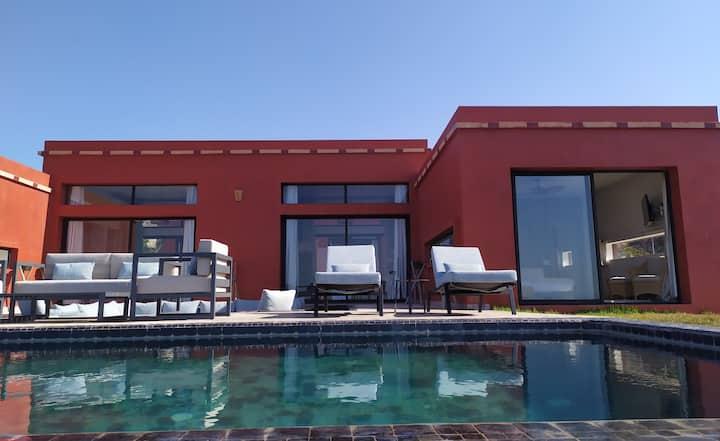 Villa vue mer, très confortable - Plage Siddi Rbat