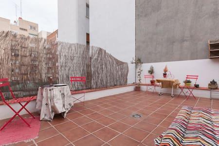 Al lado centro-Gran terraza privada - Madrid