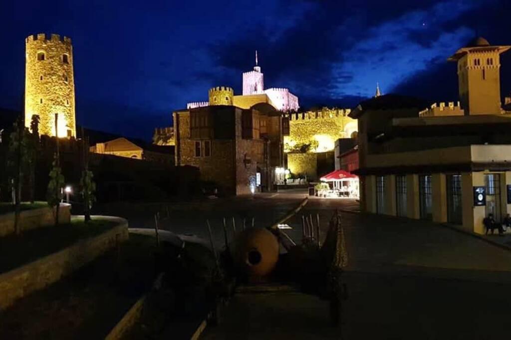 Close look at Rabati Castle
