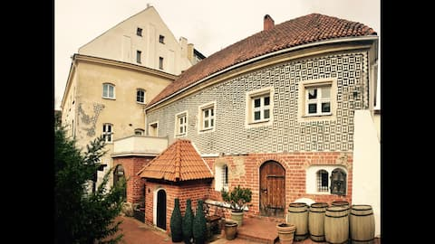 Double Room & Bathroom @Boutique Hotel (Old Town)