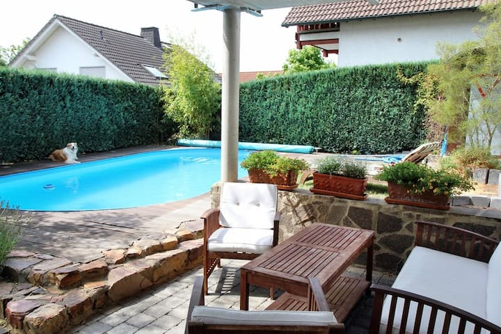 Ferienappartment mit Pool
