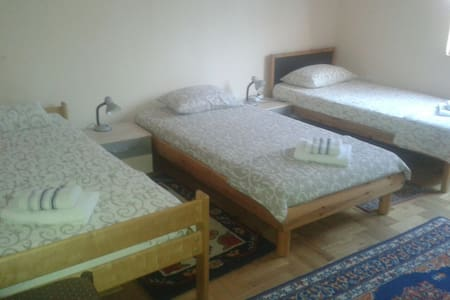 Cozy 3BD with private parking - Vršac