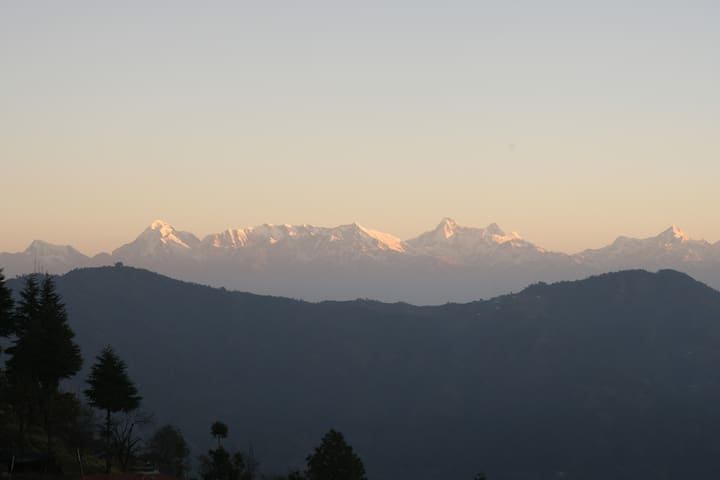 Valley and snow peaks - Nanda Kot (YaAsha)