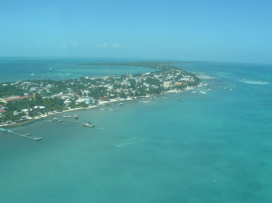 We are located on beautiful Ambergris Caye island