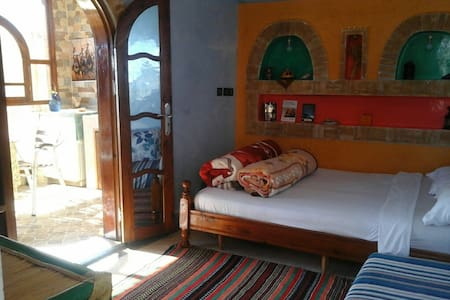 Romantic Room Near Beach_Private Balcony - Taghazout