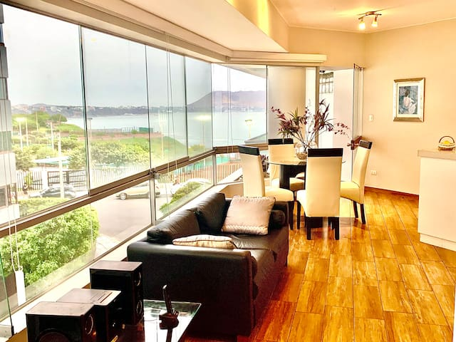 Miraflores Ocean View Bella-Apartment!..