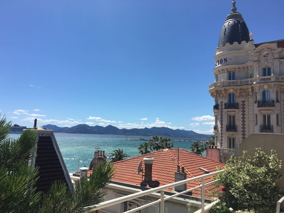 Great terrace with panoramic sea views top floor for The terrace top date