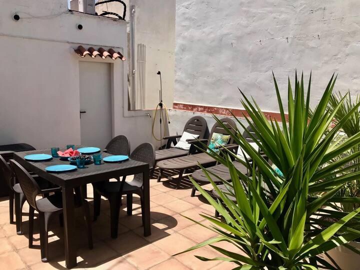 SOL DE SITGES cosy apartment with 2 terraces