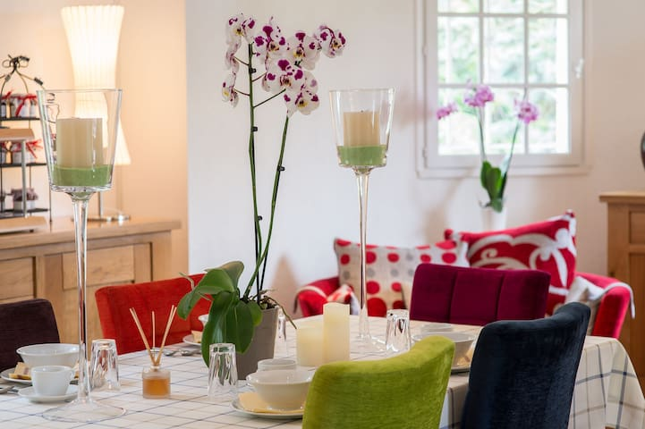 Bed and Breakfast Les Orchidées with spa - Saumur - Bed & Breakfast