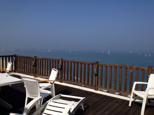 Unique !! 60m2 terrace on the sea - Trouville-sur-Mer - Byt