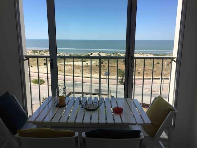Studio Soulac sur mer vue sur l'océan