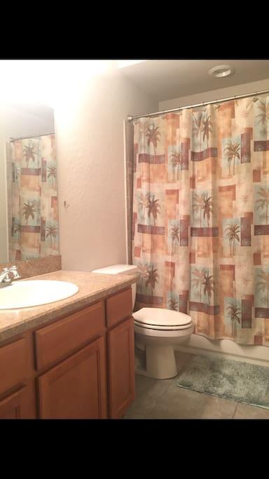 Shower/tub combo - take a soak if you want