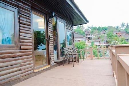 Front Side Villa Bungalow on Hillside, Phi Phi.