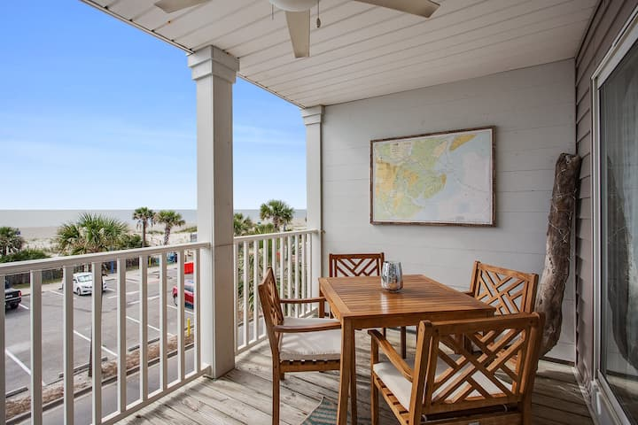 On the Strand  beach front condo. STVR Reg. 02017A