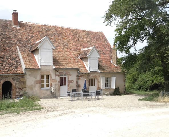 Maison au coeur d'une propriété XVIII