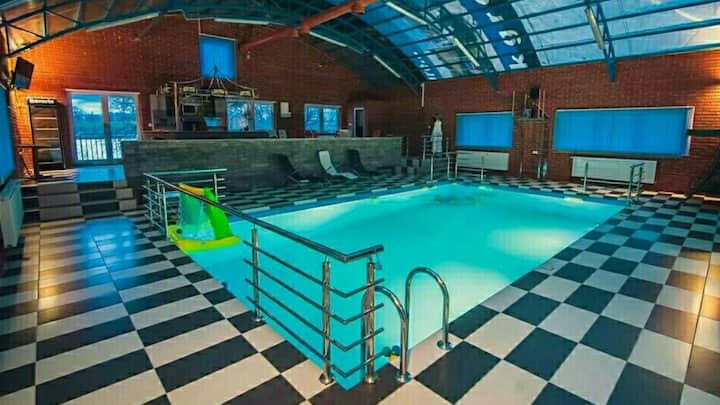 Apartment Vucic with indoor pool
