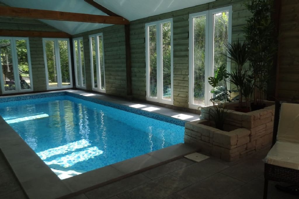 Le manoir des parcs avec piscine couverte calvados for Camping calvados avec piscine couverte